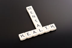 υγεία διανοητική Στοκ Εικόνες