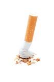 离开的抽烟 库存照片
