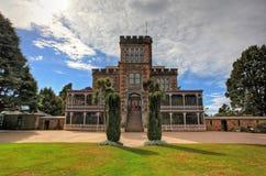 城堡庭院 库存照片
