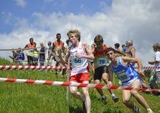 τρέξιμο βουνών Στοκ φωτογραφία με δικαίωμα ελεύθερης χρήσης