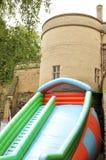 有弹性的城堡 免版税库存照片