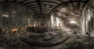 被放弃的剧院 库存照片
