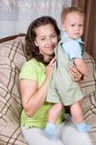 сердитый малыш Стоковое фото RF