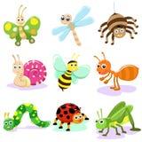 насекомое шаржа Стоковое Изображение RF
