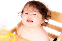 愉快的婴孩非常 免版税库存照片