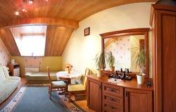 комната просторной квартиры Стоковое фото RF