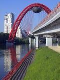 桥梁城市 免版税库存照片