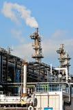 工厂气体处理 免版税库存图片