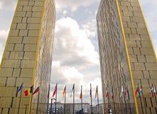 правосудие европейца суда Стоковое фото RF