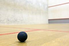 сквош спорта суда шарика Стоковое Изображение