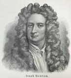 艾萨克・牛顿 库存图片
