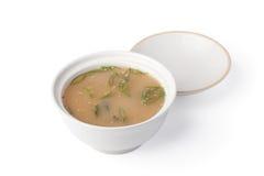 японский суп Стоковые Изображения