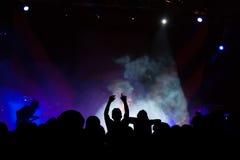 Ζήστε συναυλία Στοκ Εικόνες