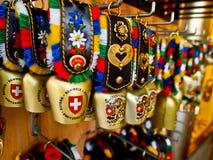 сувенир коровы колокола Стоковое Фото