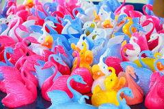 鸭子公平的橡胶 免版税库存图片