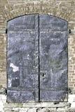 钢的门 免版税库存图片
