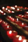对光检查被点燃的教会组 免版税图库摄影