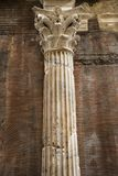 στήλη Ιταλία Ρώμη Στοκ Εικόνες