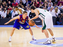 спичка баскетбола Стоковая Фотография
