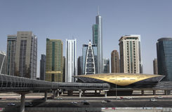 迪拜摩天大楼 图库摄影