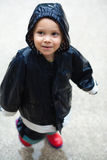 儿童雨 免版税库存照片