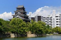 κάστρο Χιροσίμα Στοκ Εικόνες