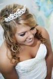 美好的新娘关闭 免版税库存照片