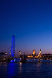 都市风景伦敦 免版税库存图片