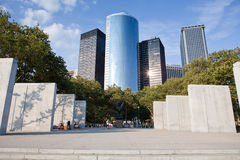 电池城市新的公园约克 免版税库存照片