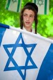 израильская еврейская молодость поселенца Стоковое Фото