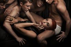 люди сексуальные Стоковые Фото