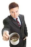 умолять изменению бизнесмена Стоковое Изображение RF