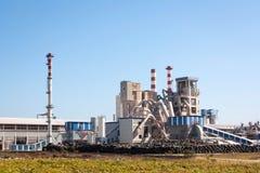 резина фабрики Стоковое фото RF