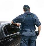 обеспеченность офицера Стоковая Фотография RF