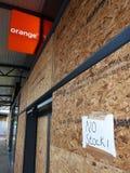 故障硬朗的公园零售店向托特纳姆 免版税库存图片