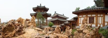 中国古典庭院 免版税图库摄影