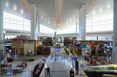 机场达拉斯堡垒国际财产 库存照片