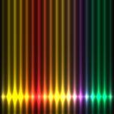 Игра светов абстрактной конструкции цветастая Стоковое Фото