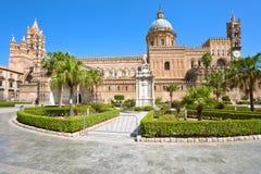大教堂巴勒莫西西里岛 免版税库存照片