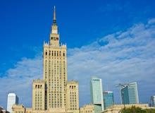波兰华沙 库存图片