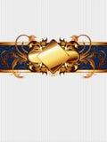 рамка богато украшенный Стоковая Фотография