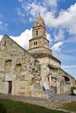 古老教会石头 库存图片
