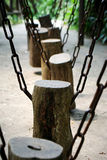 树桩摇摆 免版税库存照片