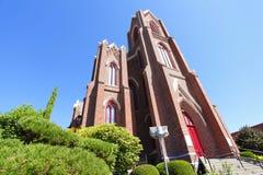 老砖教会 免版税库存照片
