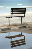 椅子反映 库存照片