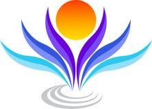 логос стильный Стоковое Изображение