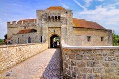 城堡门利兹 库存照片