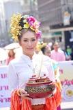 泰国的夫人 免版税库存照片