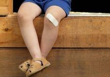 ноги мальчика Стоковые Фотографии RF