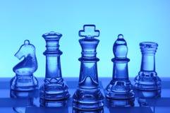 棋玻璃 库存图片